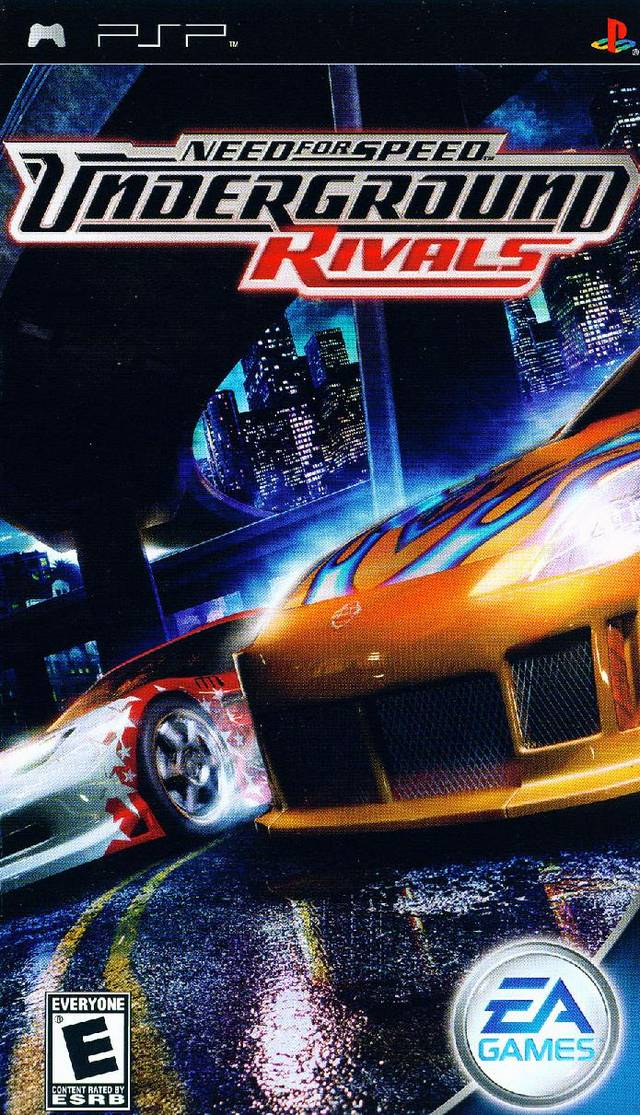 Photo of Need For Speed : Underground Rivals ( PPSSPP )