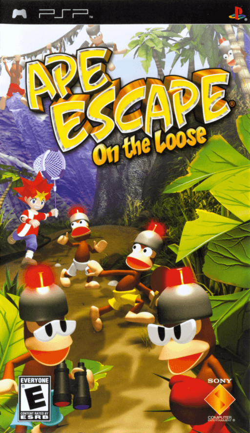 Photo of Ape Escape : On the Loose +Save Data ( PPSSPP )