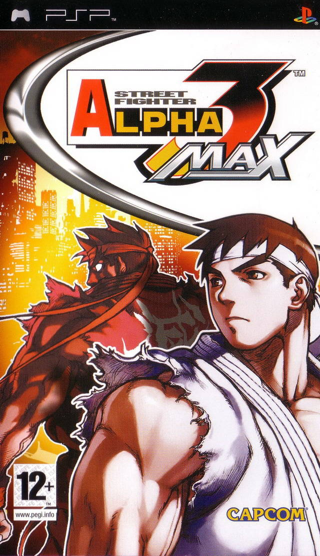 Photo of Street Fighter Alpha 3 Max ( PPSSPP )