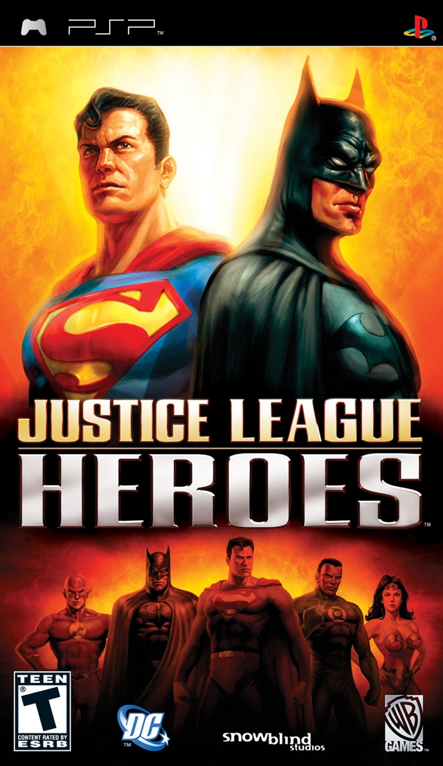Photo of Justice League : Heroes +Save Data ( PPSSPP )