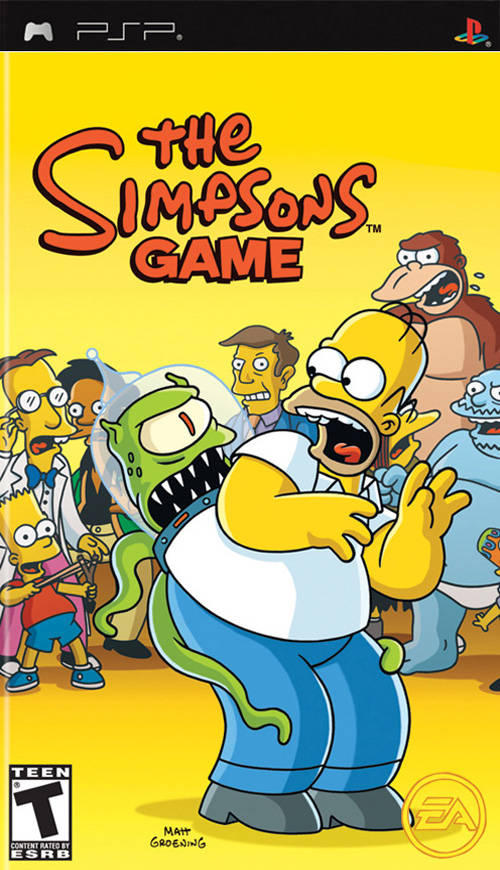 Photo of The Simpson Game ( PPSSPP )