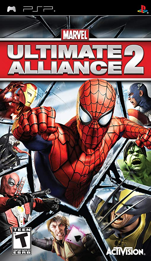 Photo of Marvel : Ultimate Alliance 2 ( +Cheat ) ( PPSSPP )