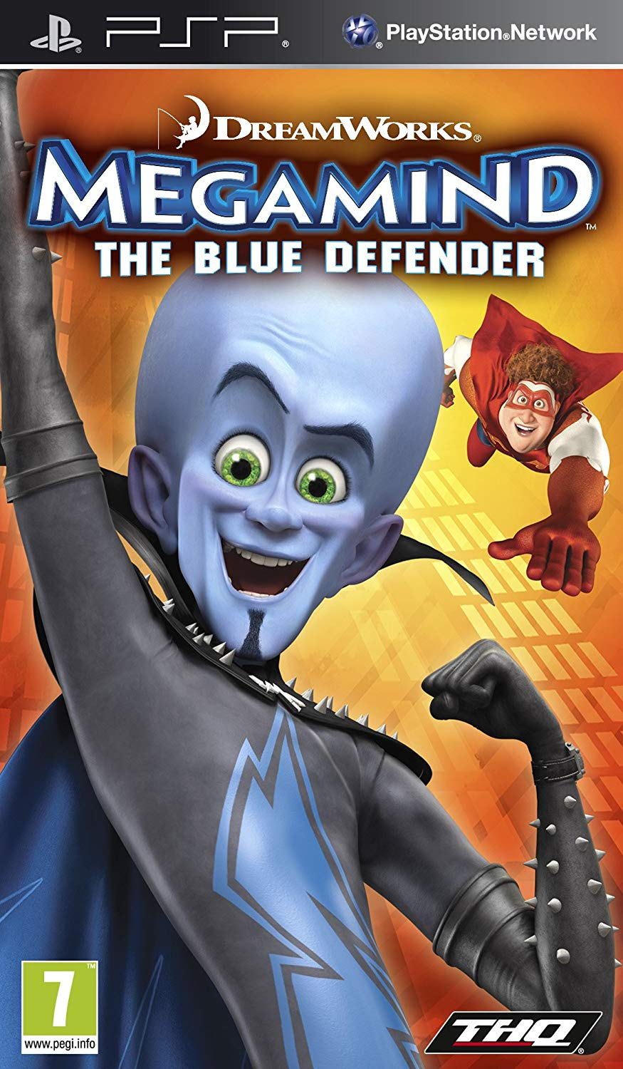 Photo of Megamind : The Blue Defender +SaveData ( Cheat ) PPSSPP