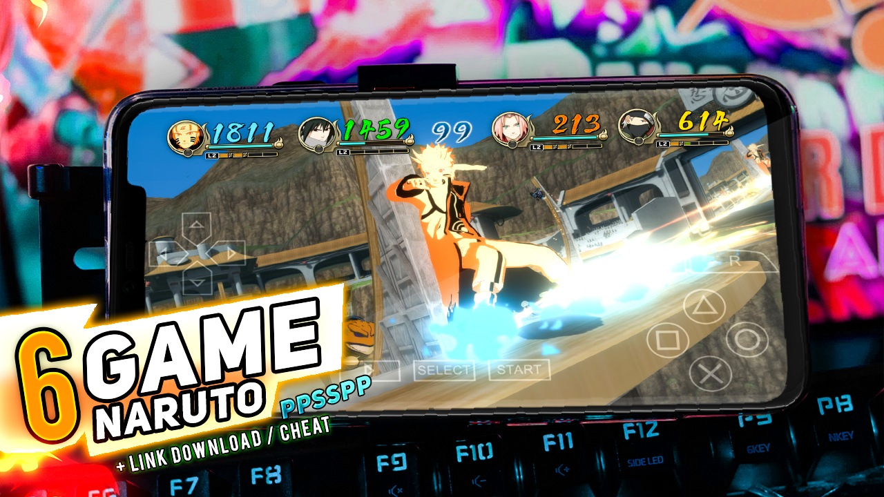 Photo of 6 Game Naruto Terbaik dan Offline di PPSSPP