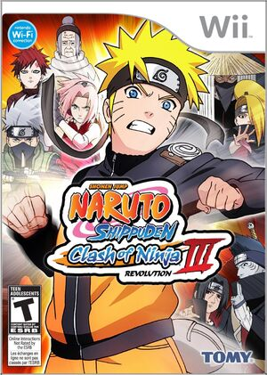 Photo of Naruto Shippuden : Clash of Ninja Revolution 3 ( WII )