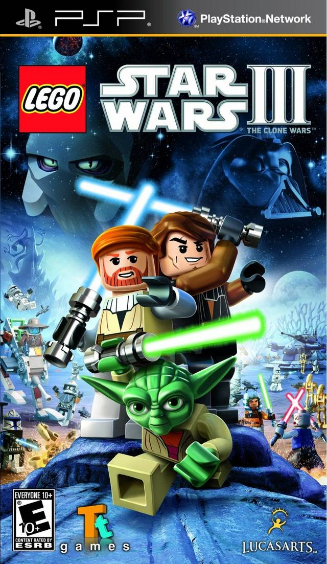 Photo of LEGO Star Wars III: The Clone Wars +Save Data ( PPSSPP )