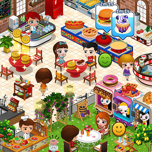Photo of Cafeland : World Kitchen ( Mod ) v.2.1.36 Android