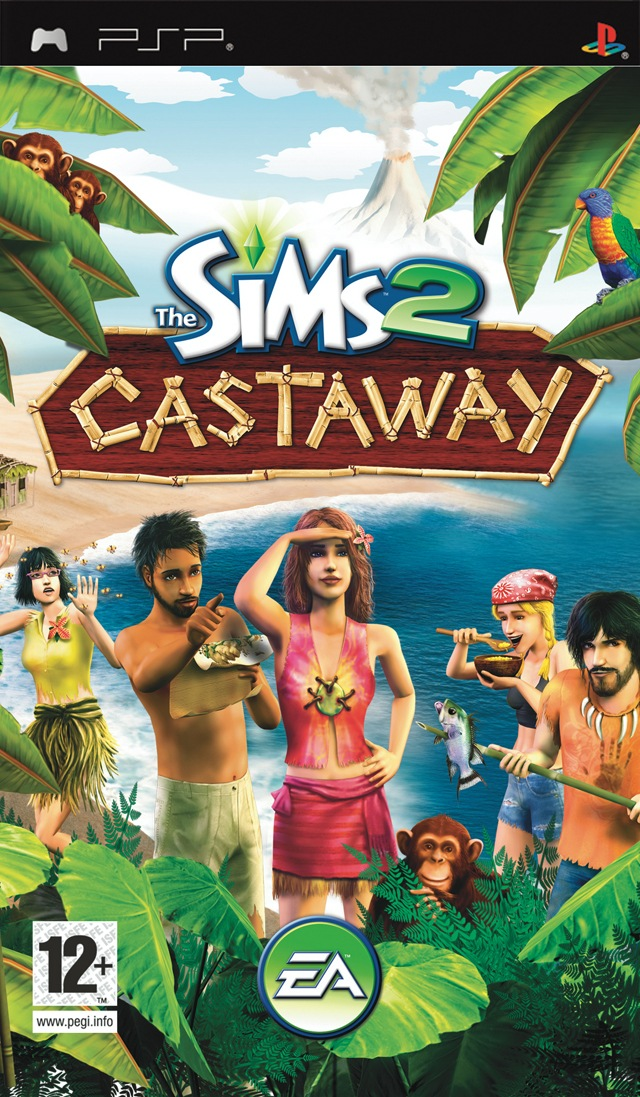 Photo of The Sims 2 : Castaway +Save Data ( PPSSPP )