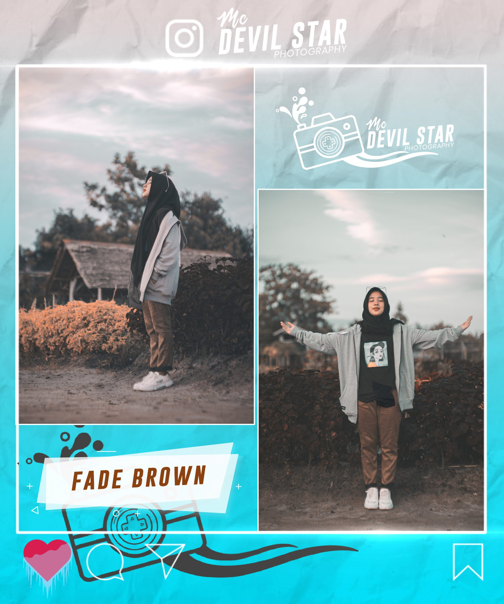 Photo of Fade Brown ( Premium ) Preset Lightroom