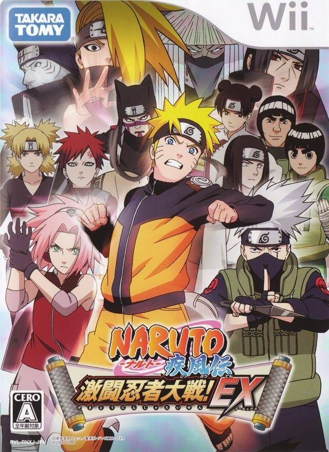 Photo of Naruto Shippuuden: Gekitou Ninja Taisen EX ( WII )